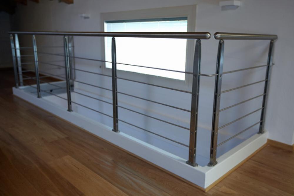 Favoloso Ringhiere vetro-inox e alluminio - Murarotto Serramenti PY21