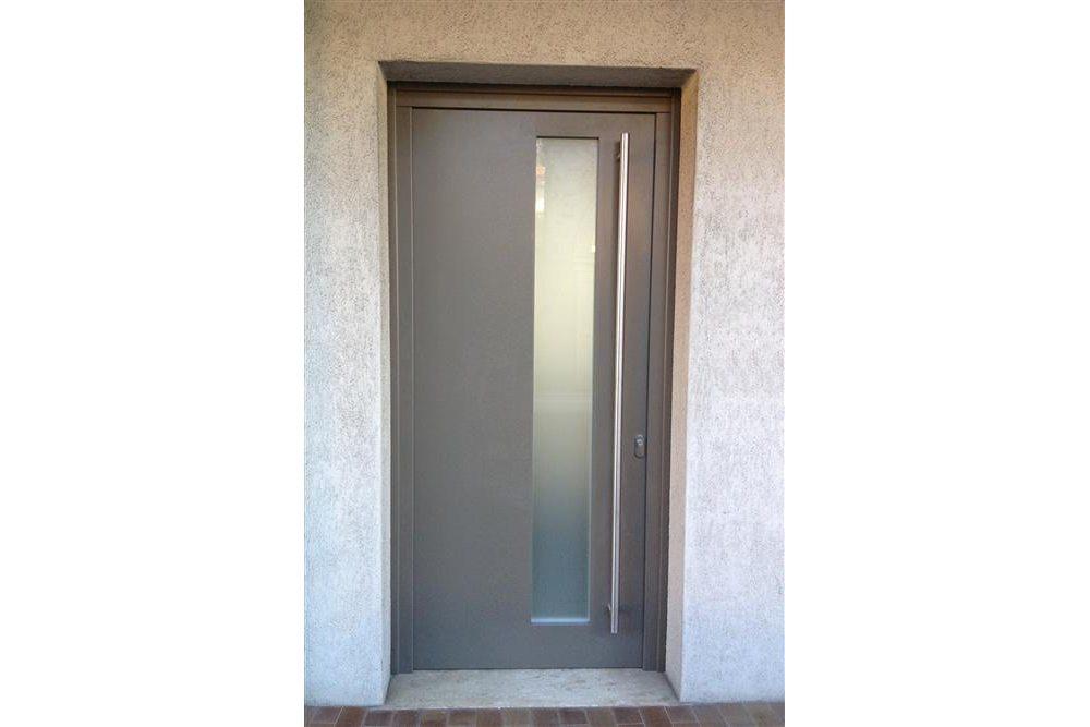 Portoncini d 39 ingresso murarotto serramenti - Porte da esterno in alluminio prezzi ...